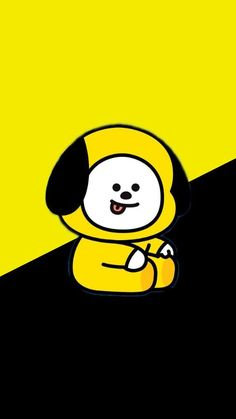 Ideas bts wallpaper aesthetic yellow for 2019 Soft Wallpaper, Bear Wallpaper, Wallpaper Iphone Cute, Disney Wallpaper, Trendy Wallpaper, Wallpaper Lockscreen, Bts Chibi, Bts Bangtan Boy, Bts Jimin