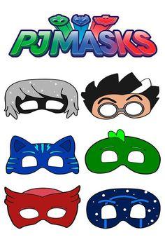 5th Birthday Party Ideas, Kids Party Themes, Boy Birthday, Mascaras Pj Masks, Pjmask Party, Pj Masks Costume, Festa Pj Masks, Happy Birthday Images, Superhero Party