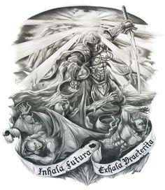 Резултат с изображение за archangel tattoo designs