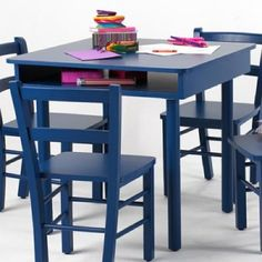 Blue Play Table from Amazon