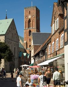 Ribe cathedral, oldest in Denmark.
