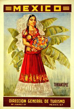 Tehuantepec #retromexico