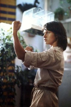 """Nóra Görbe as Veszprémi Linda in Hungary Tv series """"Linda"""" (1984)"""