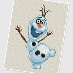 frozen plastic canvas patterns | visit etsy com