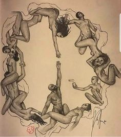 Sleeping with multiple people at once can be dangerous to your spirit. Not taking the time to heal… – self-contained-addr Art Sketches, Art Drawings, Indian Art Paintings, Sky Art, Sex And Love, Erotic Art, Black Art, Female Art, Art Pictures
