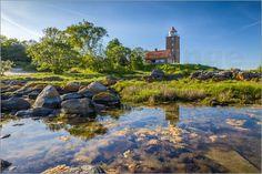Christian Müringer - Leuchtturm von Svaneke auf Bornholm (Dänemark)