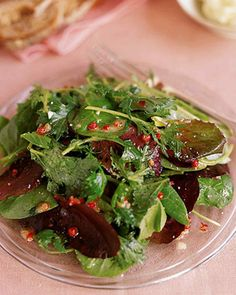 Mixed Greens with Pink Peppercorn Vinaigrette