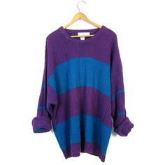 Chunky Knit HARVEST Sweater 90s Thick Stitch Long Pullover Sweater ...