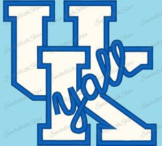 University of Kentucky Y'All Applique Machine Embroidery Design 3 Sizes by EmbellishStar on Etsy Embroidery Monogram, Embroidery Applique, Embroidery Ideas, University Of Kentucky, Kentucky Wildcats, Applique Designs, Machine Embroidery Designs, Wildcats Basketball, Kentucky Basketball