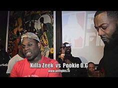 PIT FIGHTS BATTLE LEAGUE : PIT FIGHTS BATTLE LEAGUE/ The Kennel : Killa Zeek vs Pookie O.G
