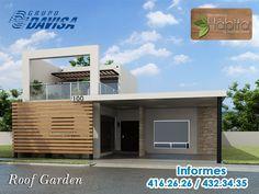 Modelo Roof Garden #Saltillo #Fachada #Jardín #Terraza