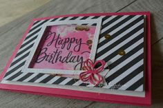 Stampin UP+Happy Birthday