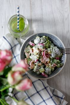 Brokkolisalat - Berries & Passion