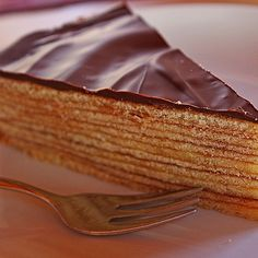 Baumkuchen by MeiLing Chocolate Cobbler, Chocolate Slice, Chocolate Hazelnut, Sweets Recipes, Cake Recipes, Vegan Caramel Slice, Oatmeal Fudge Bars, Affogato Recipe, Diet Cake