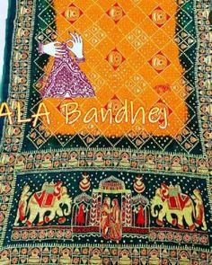 Embroidery Saree, Hand Embroidery, Japanese Yen, Bandhani Saree, End Of Season Sale, Bohemian Rug, Delicate, Vibrant, Seasons