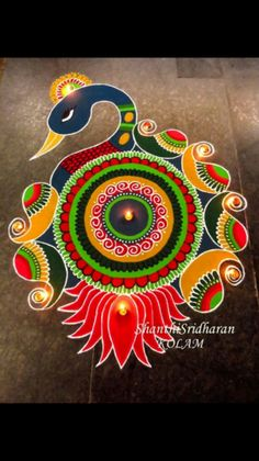 Best Rangoli Designs for Diwali Festival Rangoli Designs Peacock, Best Rangoli Design, Indian Rangoli Designs, Simple Rangoli Designs Images, Rangoli Designs Latest, Free Hand Rangoli Design, Small Rangoli Design, Rangoli Patterns, Colorful Rangoli Designs