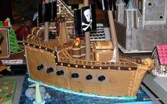 Gingerbread Pirate Ship