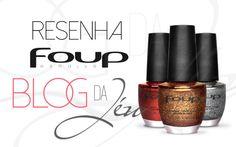 Saindo post fresquinho. Resenha dos Esmaltes Foup @esmaltesfoup. Vem conferir!!  http://blogdajeu.com.br/resenha-esmaltes-foup/