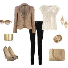 Office Outfit, created by caro1980