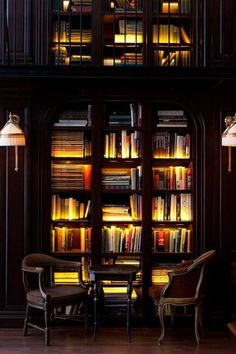 Private library. - daily wired