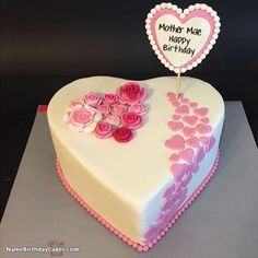 The name [mother mae] is generated on Happy Birthday Cake With Photo Edit Name image. Download and share Birthday Cake For Girls images and impress your friends.