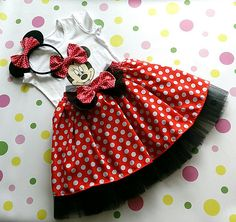 Minnie Mouse birthday outfit  birthday dressMinnie Mouse