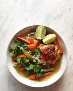 slow roasted chicken soup