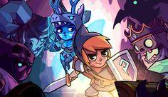 Crea tu Héroe con Knights of Puzzelot para iPhone y iPad