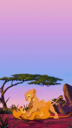 The lion king wallpaper the lion king wallpaper - disney stuff . - Disney The Lion King wallpaper Simba E Nala, Roi Lion Simba, Le Roi Lion, Nala Lion King, The Lion King 1994, Lion King Art, Art Disney, Disney Kunst, Disney Love