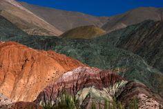 Cerro de los Siete Colores, Purmamarca, Quebrada de Humahuaca, Province of Jujuy, Argentina, South America