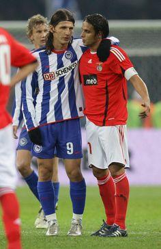 Nuno Gomes. Hertha Berlin v Benfica