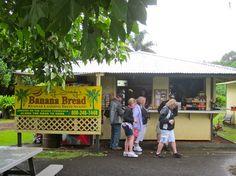 Banana Bread on the Road to Hana near Keanae Peninsula