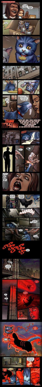 Dex-Starr the Red Lantern (origin story) ~ DC Comics