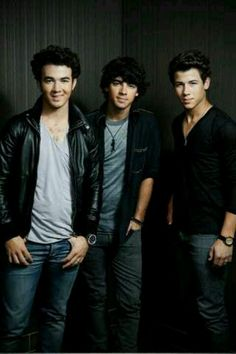 Jonas Brothers- my favorite childhood boy band. And they are making a comeback! :D I should go to their consort!