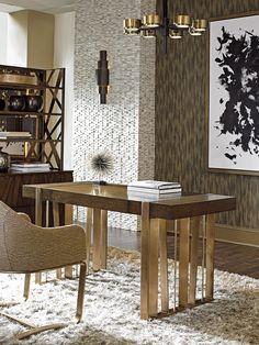 Cross Effect Intersect Writing Desk | Lexington Home Brands