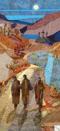 Seasonal Banners - The road to Emmaus