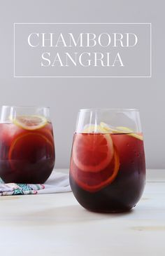 If there's one thing we know, it's that summer isn't complete without a pitcher of sangria. This colorful recipe is made with @ChambordUS, red wine and fresh fruit, and it's fit for a crowd. — via @PureWow