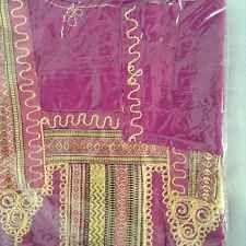 cotton kaftan/abeya/jilbab one size.full length Magenta Shade