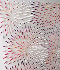 Hand Cut Paper Works by Lisa Rodden 3d Paper Art, Paper Pop, Paper Artwork, Paper Crafts, Cut Paper, Paper Artist, Origami And Quilling, Paper Quilling, Paper Cutting