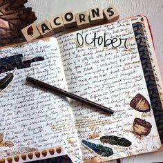In my journal...by Kathy Oct 8, 2017.  On Instagram @kathrynzbrzezny