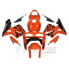Aftermarket Fairings For Honda CBR600RR 05-06 Orange black Tribal  ABS Kits 2005 2006