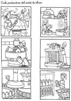 Secuencias Temporales para recortar y colorear! Sequencing Pictures, Sequencing Cards, Story Sequencing, Free Coloring, Coloring Pages, Kindergarten, First Fathers Day Gifts, Picture Story, How To Make Comics