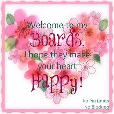 Welcome friends! Have a wonderful day!! This is a link to my Main Account - Susie ♥   https://www.pinterest.com/susiewoozie23/