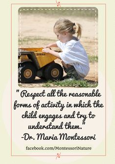 Quotes of Maria Montessori | Inspiration for Teachers and Parents - Montessori Nature