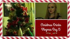 CHRISTMAS DRINKS | VLOGMAS DAY 15 | MoreRetroBombshell