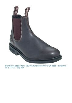 blundstone style 063 dress boots quick