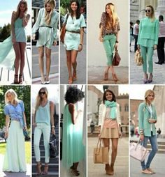 Love for teal