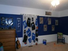 Kentucky Wildcat Man Cave Ideas : Kentucky wildcats bedding in official team colors of blue and