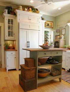 Placer esta cocina para hacer algo rico con mi abuela!