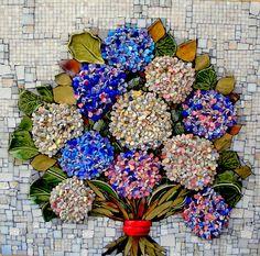 Resultado de imagem para Mosaic dog by Solange Piffer Mosaic Artwork, Mosaic Wall Art, Tile Art, Mosaic Pots, Mosaic Glass, Mosaic Tiles, Mosaic Crafts, Mosaic Projects, Mosaic Designs